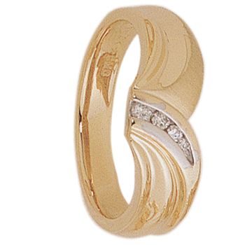 8mm 5210 Mens Tapered Wedding Band