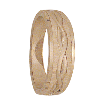 6mm tapered 306 Ladies Wedding Band