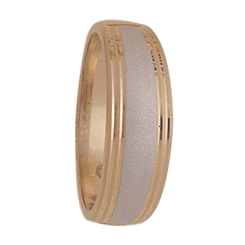 7mm 5054 Mens Tapered Wedding Band