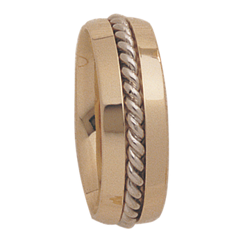 7.5mm 4T32 Mens Comfort Curve Wedding Band