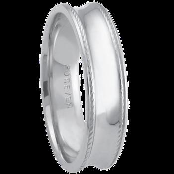 6mm 6T84 Mens Comfort Curve Wedding Band