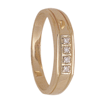 4mm 4931 LadiesTapered Wedding Band