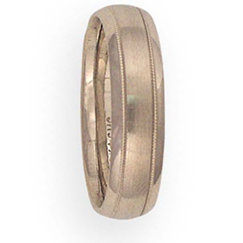 6mm 6T40 Mens Comfort Curve Wedding Band