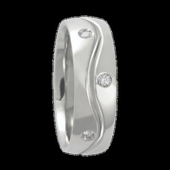 6mm 1T030 Ladies Comfort Curve Wedding Band