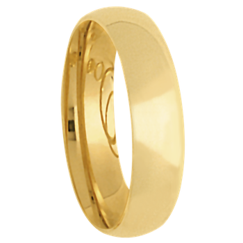 6mm 6T18 Mens Tiffany Comfort Curve Wedding Band