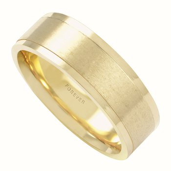 MENS COMFORT CURVE WEDDING BAND