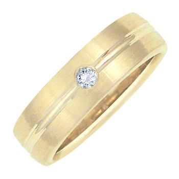 LADIES DIAMOND-SET WEDDING BAND
