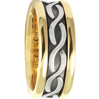 7.5mm 5418 Ladies Celtic Wedding Band