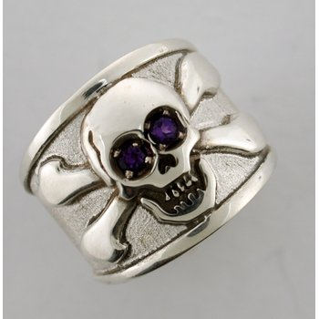 Skull And Crossed Bones Ring