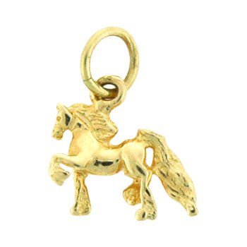 Driving Horse Charm