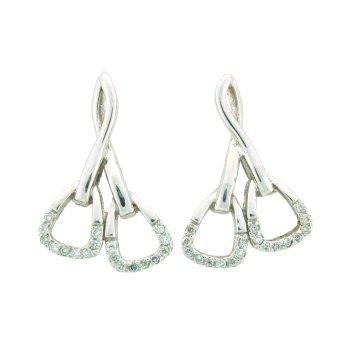 Double Stirrup Earrings