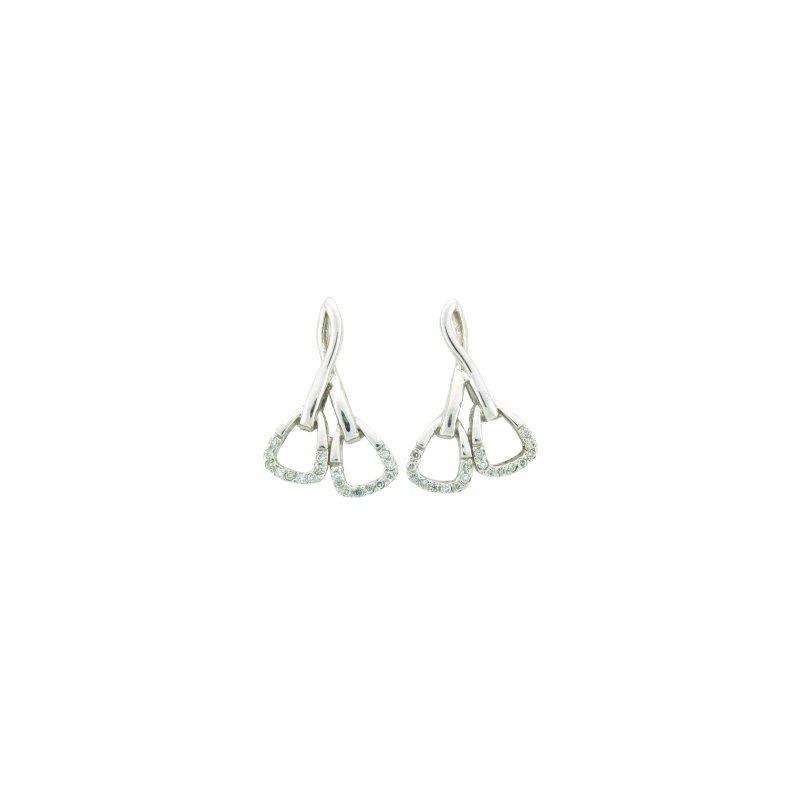 Equestrian Jewelry Double Stirrup Earrings