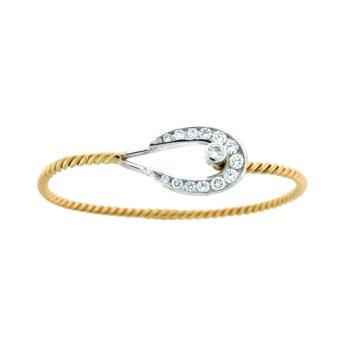 Horseshoe Bangle Bracelet