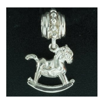 3-D Rocking Horse Pandora Type Bead