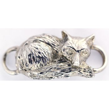 Sterling Silver Fox Clasp