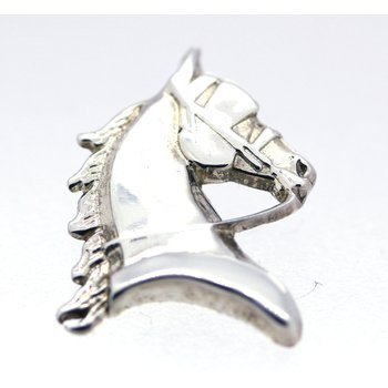 Sterling Silver Horse Head Tie Tac
