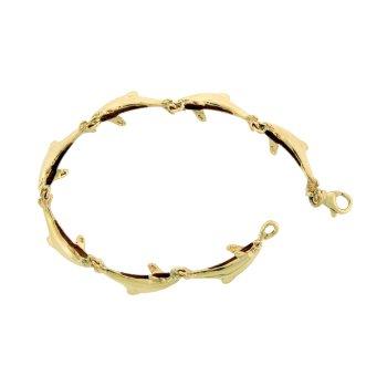 Porpoise Link Bracelet