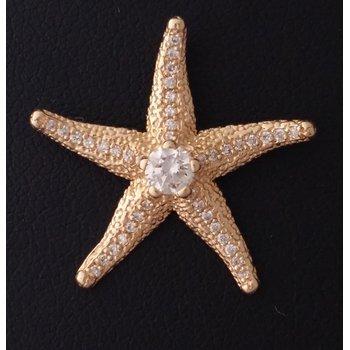 Yellow Gold Starfish Pendant