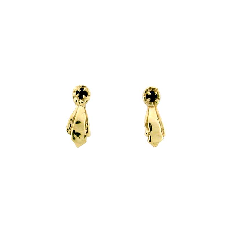 Equestrian Jewelry Ribbon Earrings