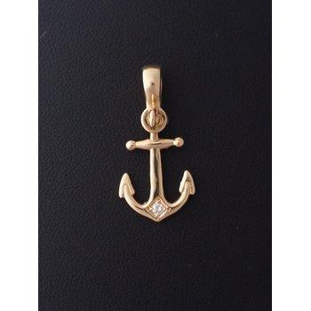 Large Anchor Pendant
