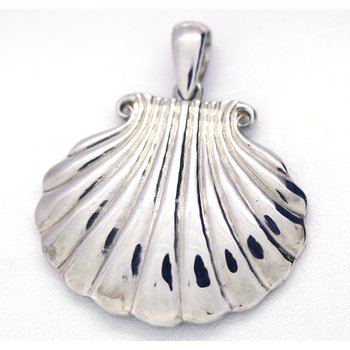 Sterling Silver Sea Shell Pendant