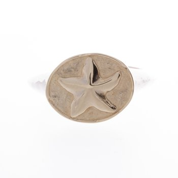 14kt Simple Starfish Ring