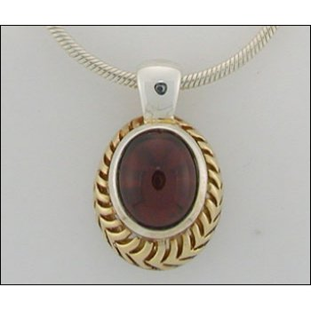 Traditional-Lorenzo Garnet Necklace