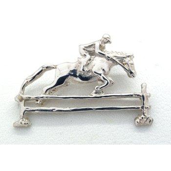 Sterling Silver Horse Jumper Pendant