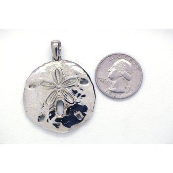 Sterling Silver Sand Dollar Pendant