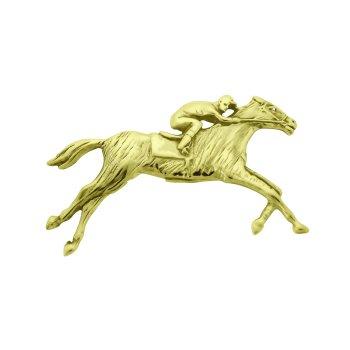 Thoroughbred Race Horse Pendant