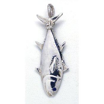 sterling Silver Tuna Pendant