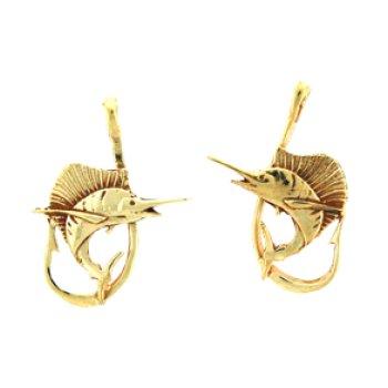 Sailfish Earrings