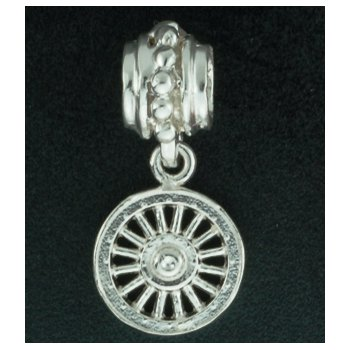 Carriage Wheel Pandora Type Bead