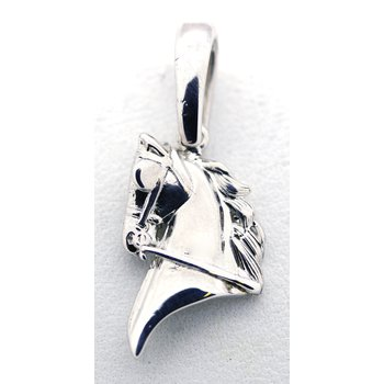 Sterling Silver Horse Head Pendant