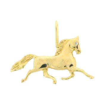 Driving Horse Pendant