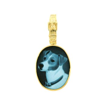 Jack Russell Cameo Pendant