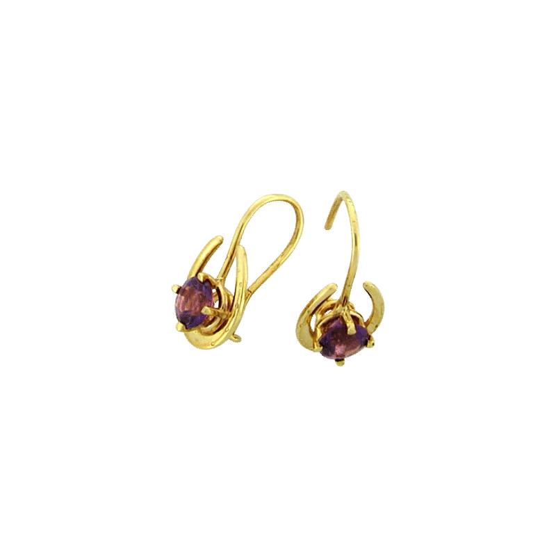Equestrian Jewelry Horseshoe Earrings