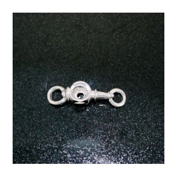 Sterling Carriage Lamp Clasp For Lestage Bracelet