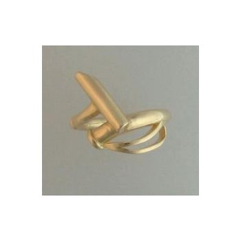 14Kt Yellow Gold Polo Ring