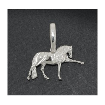 Sterling Andalusian / Lusitano Pendant