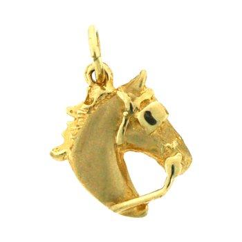 Driving Horse Head Charm