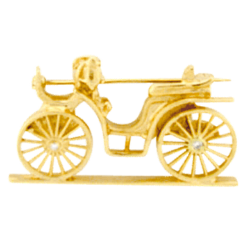 Carriage Brooch
