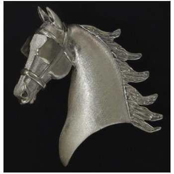 Sterling  Driving Horse Head