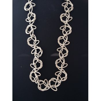 Sterling Silver Clasp Necklace
