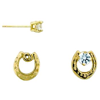 Horseshoe Earring Jackets