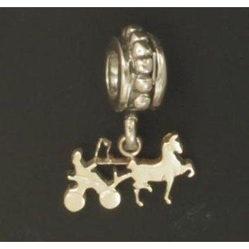 Sterling Hackney Fine  Harness Pandora Type Bead