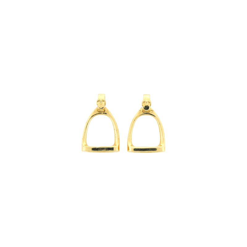 Equestrian Jewelry Stirrup Earrings