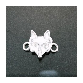 Sterling Fox Mask Lestage Bracelet Clasp