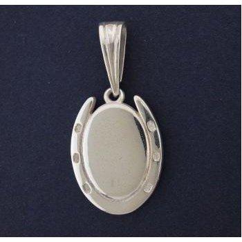 Engravable Horseshoe Pendant
