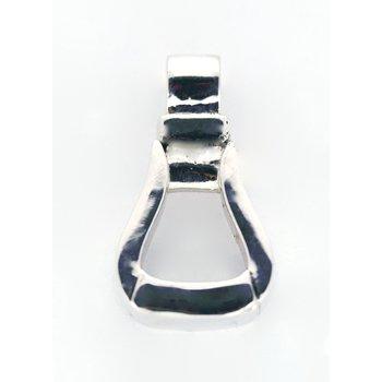 Sterling Silver Stirrup Pendant